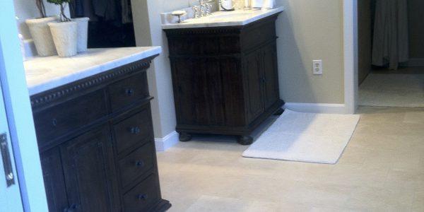 Double Vanity Bathroom Renovation