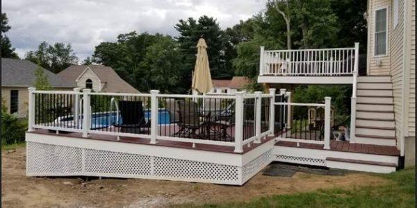 Trex Composite Pool Deck