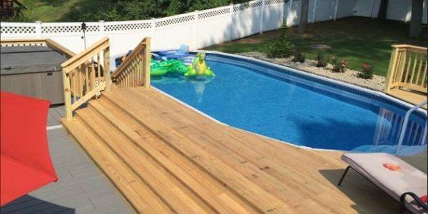 Wood Deck Renovation