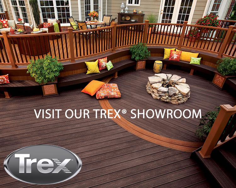 Trex Deck by Regan Total Construction showroom